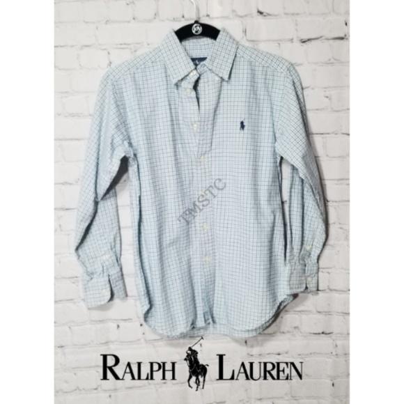 Ralph Lauren Other - Ralph Lauren Plaid Cotton Poplin Button Down Shirt